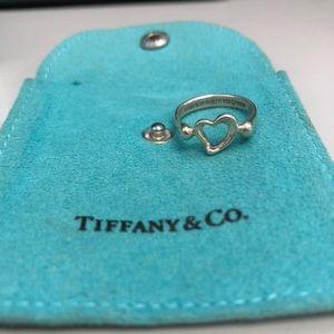 Tiffany's Open Heart Ring